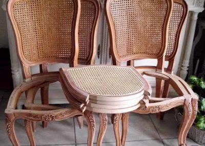 chaises avant