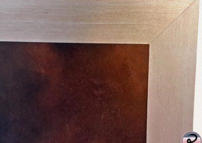 effet rouille peinture metal