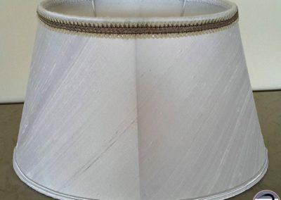 ovale tendu soie sauvage