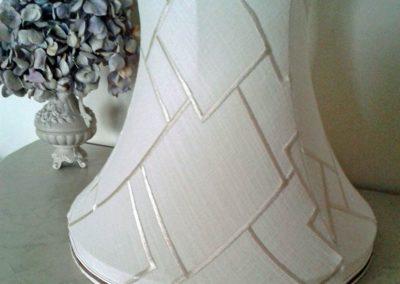 pagode a bandeau tissu brode